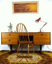Beautiful Mid Century G Plan Teak Form 5 Dressing Table/Desk Work From Home