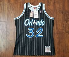 37b3322f Shaquille O'neal 1994-95 Orlando Magic Mitchell & Ness Authentic Black Jersey  44