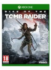 Rise of The Tomb Raider Xbox 360 VGC PAL UK 1st Class Rec'd Post