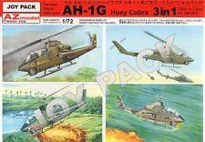 AZ Models 1/72 Bell AH-1G Huey Cobra (3 Kits en Caja de 1) # 7702
