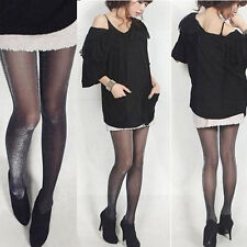 Shiny Women Tights Sparkle Xmas Party Silver Glitter Stockings Pantyhose NEW