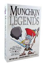 Munchkin Legends Base Set Steve Jackson Games Brand New Factory SEALED