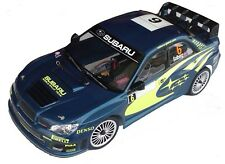 1:10 RC Clear Lexan Body Subaru Impreza WRC 2007 200mm Nitro or Electric Colt
