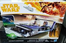"Star Wars 3.75"" Han Solo Story CORELLIA LANDSPEEDER FORCE LINK WAVE 16 IN STOCK"