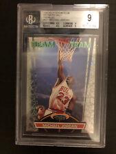 Michael Jordan Members Only Beam Team 1992 Stadium Club BGS 9 parallel Beckett
