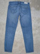 AG ADRIANO GOLDSCHMIED Stilt Cigarette Jeans Sz 24 Stretch 14 yr AGed Wash