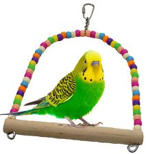 1324 SWING BIRD TOY parrot cage toys cages parakeet cockatiel lovebird budgie