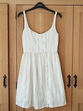 Topshop x Kate Moss cream dress UK10