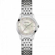 Bulova Women's 96P160 'Diamond' Crystal Stainless Steel Watch