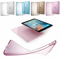 """For iPad 6 6th 9.7"""" 2018 A1893 A1954 Clear Transparent Slim TPU Case Back Cover"""