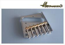 Ash Tray, Vintage Telecaster Bridge, mit 6 einzelnen Messing Sätteln,