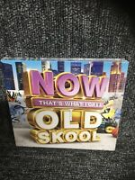 NOW That's What I Call Old Skool - Various Artists (NEW 3CD) Box Set, Sealed.cd