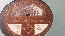 BAND OF HM COLDSTREAM GUARDS LA POUPEE SELECTION 1 & 2 (ANDRAN) HMV C206
