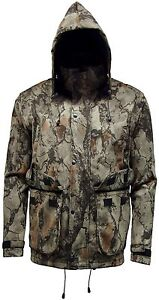 Mens Nat Gear Camouflage Waterproof Hunting Shooting Jacket Stormkloth Camo Hunt