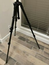 Carbon Fiber Manfrotto 057 4-Section Tripod with Geared Column #MT057C4-G