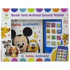 Disney Hello Animals! Book and Animal Sound Tablet