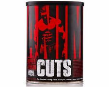 UNIVERSAL NUTRITION ANIMAL CUTS 42 PACKS - THERMOGENIC FAT BURNER FREE SHIPPING