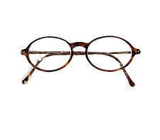 Vintage GIORGIO ARMANI Eyeglasses Frame Italy 174 48 -17-140 Tortoise Gold