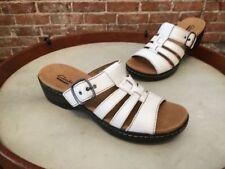 Clarks Leather Slides 8 Sandals & Flip Flops for Women