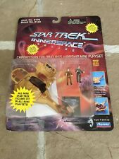 Star Trek Innerspace Cardassian Galor-Class Warship Mini Playset w/ Odo & D.