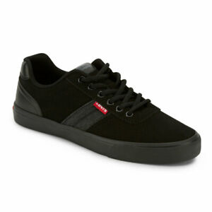 Levi's Mens Miles Perf PU NB Synthetic Leather Casual Lace-up Sneaker Shoe