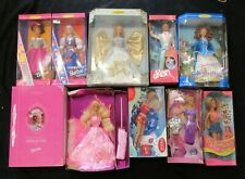LOT OF 10 BARBIE DOLLS -MOVIE STAR, DOTW, BUTTERFLY ART, GIBSON GIRL, COCA COLA