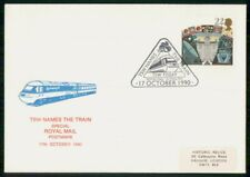 Mayfairstamps Great Britain 1990 Tsw Names Train Royal Mail Satellites Cover wwh