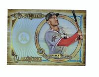 2018 Topps Gypsy Queen Glassworks Refractor Box Topper GIANCARLO STANTON Marlins