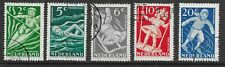 Netherlands 1948 - Child Welfare Stamps - Kinderzegels - Used