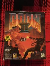 Doom 2 Big Box Pc IBM 3.5 100% COMPLETE VERY NICE CIB