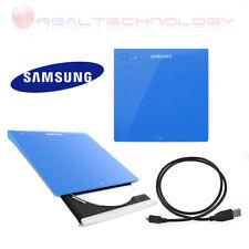 Masterizzatore Lettore esterno Samsung Slim portatile Bianco-rosso-blu-nero Blu