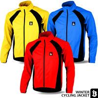 Cycling Jacket Winter Fleece Thermal Windproof Windstopper Long Sleeve Jackets