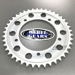 Rebel Gears Billet Aluminum Sprocket 42T Suzuki 01-08 GSX-R 1000 520 Conversion