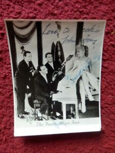 THE FRASER HAYES FOUR -  SINGERS   -  AUTOGRAPHED PHOTO