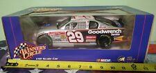 NASCAR 2002 WINNERS CIRCLE 1/18 SCALE SILVER CAR #29 KEVIN HARVICK No 15833 0001