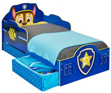 Official Paw Patrol Chase Toddler Bed With Storage MDF 509PWP
