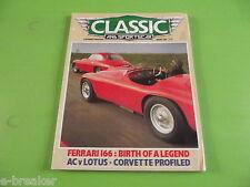 classique et voiture de sport Magazine Janvier 1986 #C1