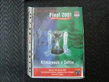 Away Teams F-K Scottish League Football Programmes