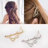 Women Branches Hair Clips Hairband Hair Bobby Pin Barrette Hairpin Head Fashion
