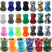 Cool Multi-Use Tube Bandana Cover Scarf Neck Soft Wrap Gaiter Face Mask Elastic