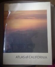 """Atlas of California - Massive 12""""x15"""" format. 191 pages, hundreds of color maps"""