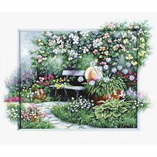 Kit point compté  Jardin fleuri BU4012  Luca-S