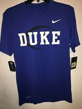 Nike Dri-Fit Duke Blue Devils Legend Icon Football Royal Blue Short Sleeve Shirt