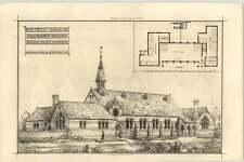 1870 St Pauls Schools Stratford Essex Henry Ough Architect