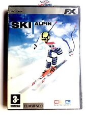 Ski Alpin PC Nuevo Precintado Retro Videogame Videojuego Sealed New PAL/SPA