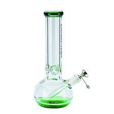 Bong - Pipe à eau 30 cm - Design Transparent/Vert