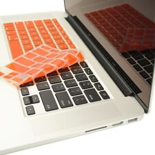 """ORANGE Silicone Keyboard Cover for NEW Macbook Pro 13"""" A1425 with Retina display"""