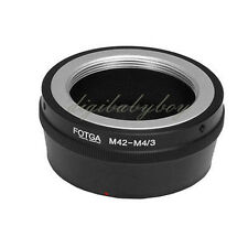 Fotga Adapter M42 Lens To Micro 4/3 E-P1 E-Pl2 E-Pm1 E-Pm2 Om-D E-M5 G3 Gf1 Gf5