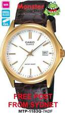 CASIO WATCH DATE MTP1183 MTP-1183Q-7AD MTP-1183Q-7 12-MONTH WRANTY