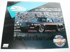1987 BUICK GRAND NATIONAL SKIP BARBER RACING SCHOOL DEALER POSTER NEW